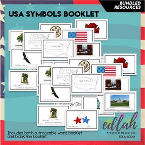 United States Symbol Booklet BUNDLE