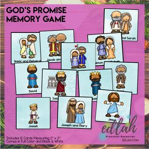 God's Promise Memory Game
