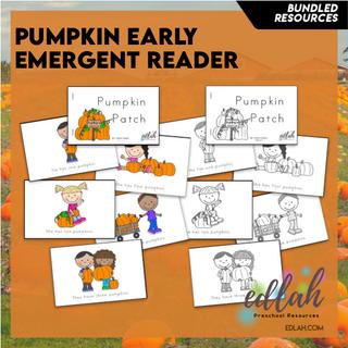 Pumpkin Early Emergent Reader - BUNDLE