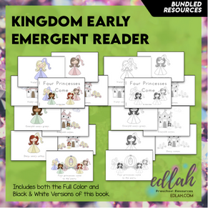 Kings and Queens Early Emergent Reader - BUNDLE
