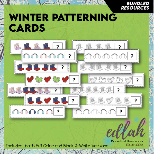 Winter Patterning - BUNDLE