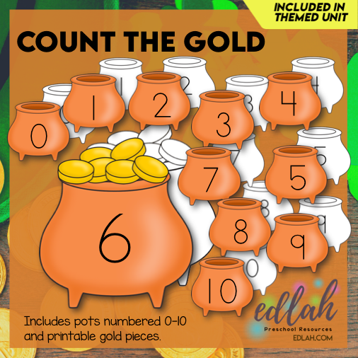 Count the Gold (St. Patrick's Day Counting Game)