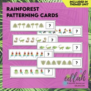 Rainforest Patterning Cards - Full Color Version