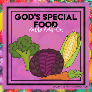 Nutrition Bible Add-On Mini Unit Lessons