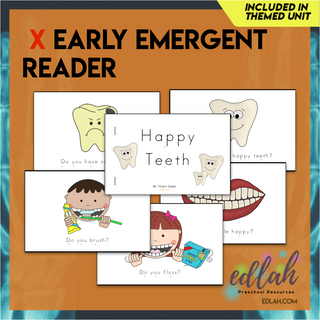 Dental Health Early Emergent Reader - Full Color Version