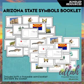 Arizona State Symbol Booklet BUNDLE