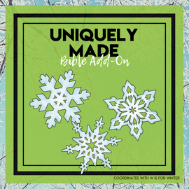 Uniquely Made: Winter Bible Add-On (2 weeks) Mini Unit Lessons