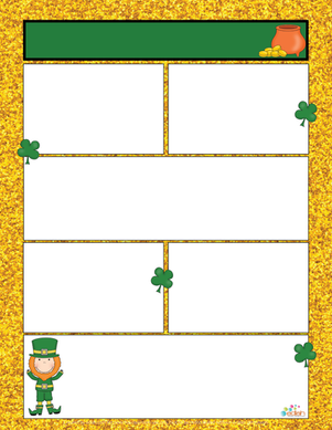 St. Patrick's Day Newsletter for Word