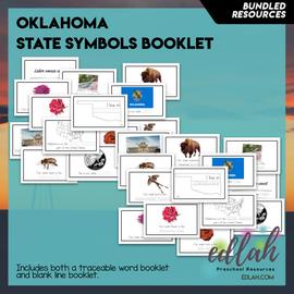 Oklahoma State Symbols Booklet BUNDLE