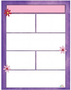 Flowers/Spring Newsletter For Word_Generation 1