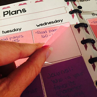 Build Your Own Custom Planner  Lesson Plans