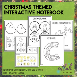 Christmas Themed Interacted Notebook