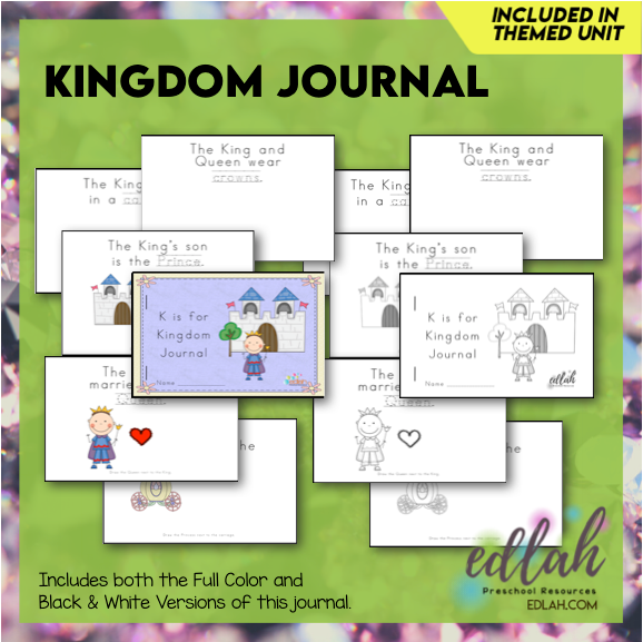 Kingdom Printable Journal (King and Queen)