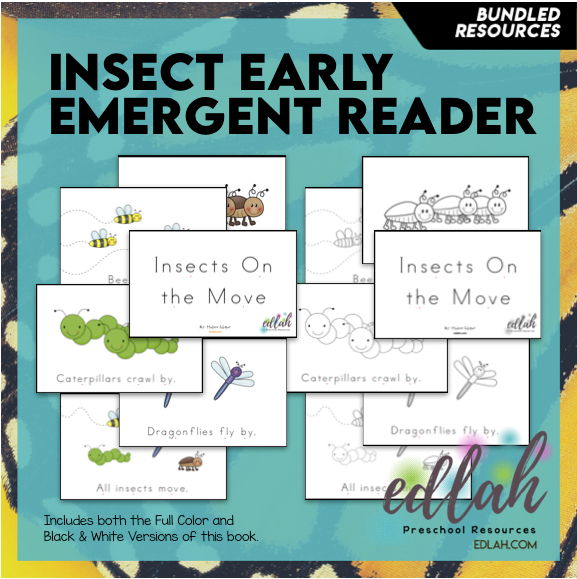 Insects Early Emergent Reader - BUNDLE