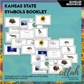 Kansas State Symbol Booklet BUNDLE