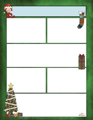 Christmas Newsletter for Word_Generation 1