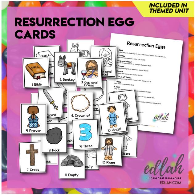 Resurrection Egg Cards