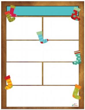 Christmas Stocking Newsletter for Word_Generation 1