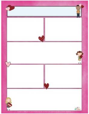Valentine's Day Newsletter for Word_Generation 1