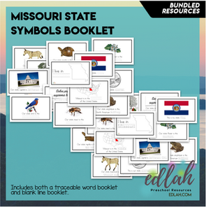 https://www.teacherspayteachers.com/Product/Kansas-State-Symbols-Booklet-Traceable-Words-194761