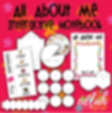 All About Me preschool curriculum and resources