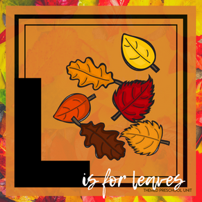 L is for Leaves Themed Unit-Preschool Lesson Plans