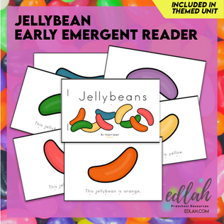 Easter Early Emergent Reader - Full Color Version