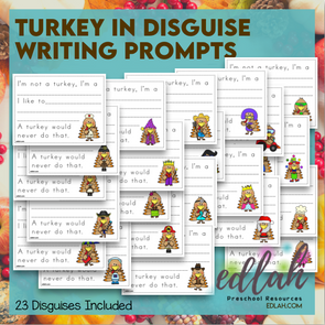 Turkey in Disguise - Plain Writing Lines