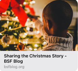 Sharing the Christmas Story Blog