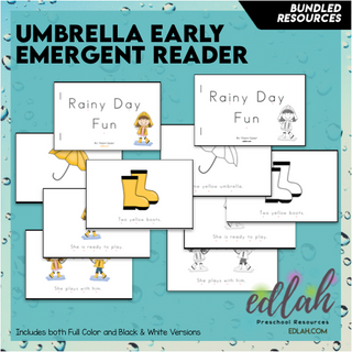 Weather Early Emergent Reader - BUNDLE