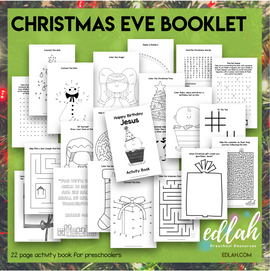 Christmas Eve Activity Booklet