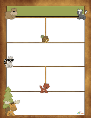 Forest Animal Newsletter for Word_Generation 1