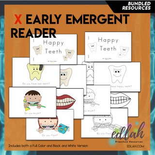 Dental Health Early Emergent Reader - BUNDLE