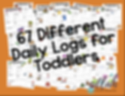 Daily Logs for Toddler Parent Communication
