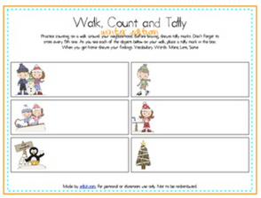Walk, Count and Tally-Winter Edition