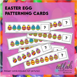 Easter Egg Patterning Cards - Full Color Version