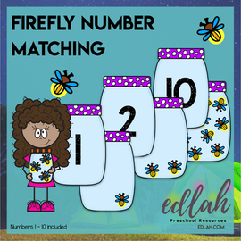 Firefly Number Matching Cards