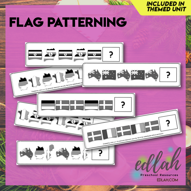 Flag patterning