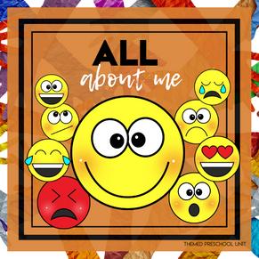 All About Me Themed Unit-Preschool Lesson Plans & Activities