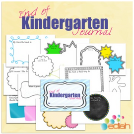 End of the Year Journal: Kindergarten