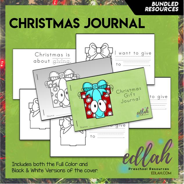 Christmas Printable Journal