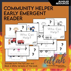 Community Helper Early Emergent Reader - BUNDLE