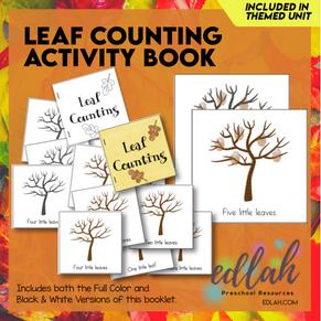 Fingerprint Leaf Counting Book