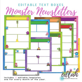 Monster Newsletter Template Mega Pack
