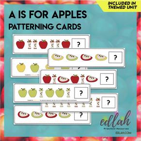 Apple Patterning Cards - Full Color Version