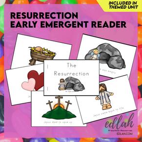 Easter/Resurrection Early Emergent Reader - Full Color Version