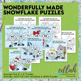 Unique Like a Snowflake Puzzles