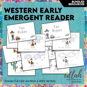 Western Early Emergent Reader - BUNDLE
