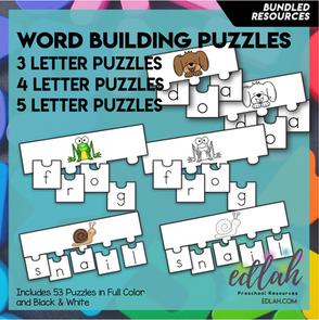Word Building Puzzles: Mega Pack