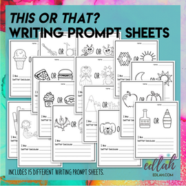 This Or That? Writing Prompts